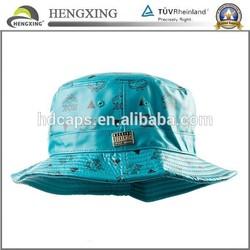 2015 hot sale free pattern children bucket hat wholesale