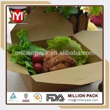 Fast food packaging takeaway box