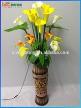 2015 PU petal artificial flower calla PU artificial flowers
