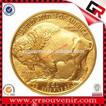 Top quality hot sell fashion Souvenir Gold coin