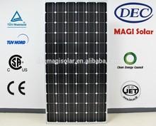 MGSM310-72 310W Monocrystalline solar pv Panels, JET, CB,TUV,CEC,CSA