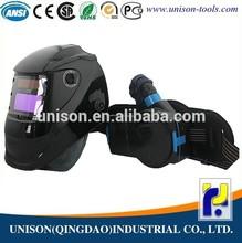welding helmet with fan
