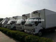 freezer van food cart trailer truck box ckd vacuum packing machine