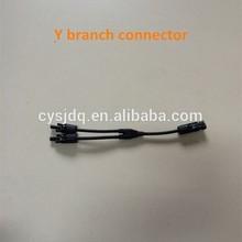 Y Type PV branch MC4 solar connector