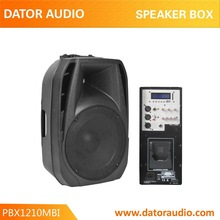 Portable DJ System Active PA Speaker With Rechargeable Battery