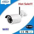 Venda quente 1080 p wifi câmera ip wireless outdoor câmera de segurança fcc, Ce, Rohs certificação