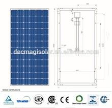 MGSP300-72 300W Polycrystalline solar pv Panels, JET, CB,TUV,CEC,CSA, Brazil INMETRO