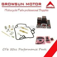 Kit de reparacion de carburador de refacciones de motocicleta para GY6 50cc/139QMB