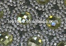 Hot fix adhesive glass rhinestone motif 24*40cm