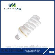 CFL Full spiral E27 energy saving lamp ,15w/26w energy saving lamp,6400k energy saving lamp