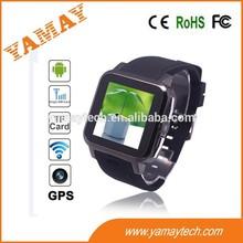 512MB RAM 4GB ROM watch phone 1.54 inch dual core bluetooth bracelet smart watch