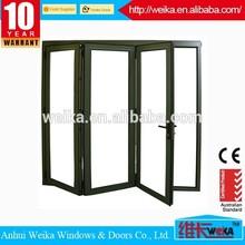 China new design popular folding pvc door partition