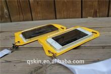 Hot sale around necks mobile phone waterproof bag