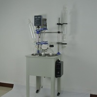 Single Layer Cylindrical Glass Packed Bed Reactor