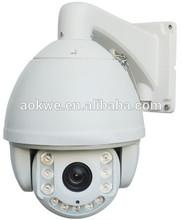 Aokwe 2.0MP 1080p outdoor waterproof ir dome full hd ptz camera 20x optical zoom CCTV camera PTZ ip high speed dome