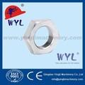 En10241 150 libras hilo de acero inoxidable accesorios de tubería- tuerca hexagonal