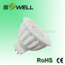 110/230V 3*1W MR16 ceramic 50*50mm CE RoHS LED spot lighting bulbs