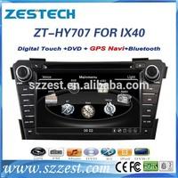 car dvd gps navigation for Hyundai I40 car dvd gps navigation system with radio player 3G ZT-HY707