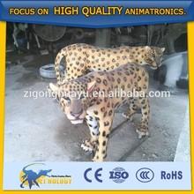 Cetnology King of the Jungle Lifelike Animatronic Leopard Model for Sale