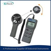 AZ-8902 Handheld Anemometer Remote Fan Air Flow Meter w/RH%