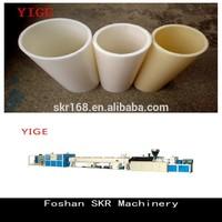 Foshan SKR machinery big size thick wall PVC drainage pipe making machine line