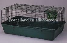 metal breeding best quality DARK GREEN folded rabbit cage