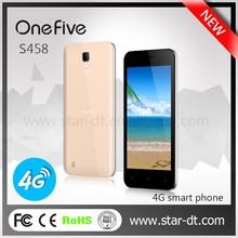 "4.58"" Original Mobile Phone Onefive S458 Cell Phones Quad Core 512MB 4GB ROM MT 6735 Quad Core 5MP Camera LTE 4G"