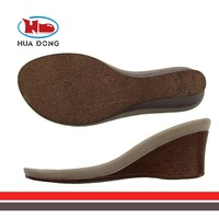 Sole Expert Huadong,2015 latest super light ladies sandal sole PU