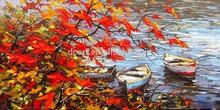 Popular Modern Handmade Impressionists Landscape Oil Painting