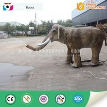 Exhibition equipment animatronic elephant statues
