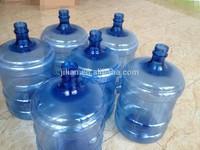 screw thread PET preform 5 gallon preform dark blue