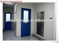 high quality color coated steel clean room door