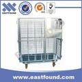 Industrial Metal Pesado Carro de Transferencia de Carga pelgable de 500kg con cerradura