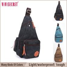 2015 trendy college student single shoulder canvas school bag