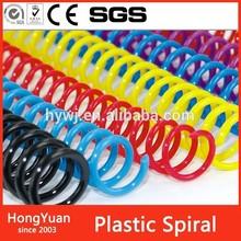 Office & School Supplies Book Binding Metal Spiral , Plastic Spiral Coil Wire