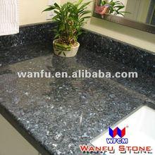 Blue Pearl Bathroom Vanity Granite With Square Bowl