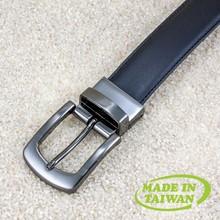 Unisex classic dark color wholesale leather belts
