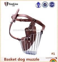 Wholesale pet muzzle basket dog muzzle dog bark eliminator