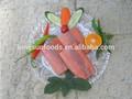 de color rosa porción de salmón