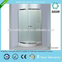 Corner tempered glass simple shower cubicle,sliding door enclosed shower room,shower cubicle