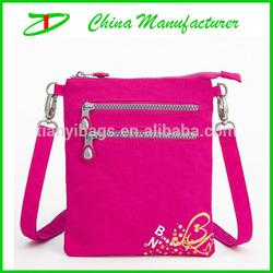 Custom nylon ziplock mini bag for ipad