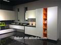 Jisheng conception plan que vous demandez plein air mini cuisine de contreplaqué panel_high blanc brillant UV revêtement usine