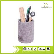 Round Gray Felt Beautiful Vape Pen Holder