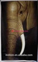 high quality handmade elephant canvas painting