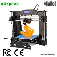 afinibot alto risparmio metallico della stampante 3d in vendita stampante porcellana
