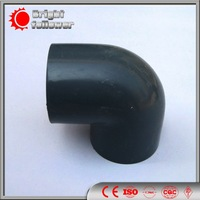 round section galvanized pipe elbow
