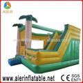 Jungle castelo bouncy inflável, baratos castelo insuflável, exterior bouncy castelo