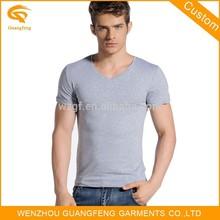 V-Neck Collar T-Shirt, Plain V Neck T Shirt, Bulk V-Neck T Shirt