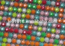 Hot fix mix color resin rhinestone motif 45*120cm