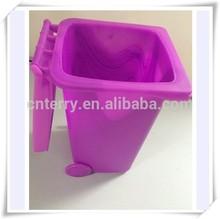 Mini multifunction plastic trash bin